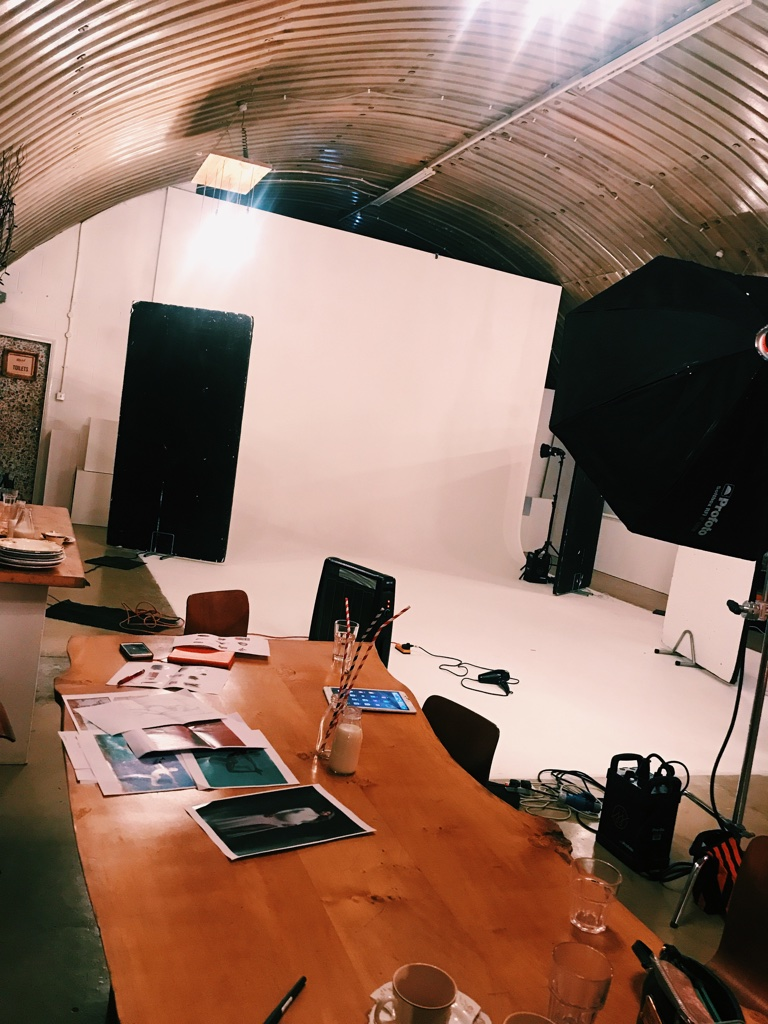 A studio ready for a cover shoot
